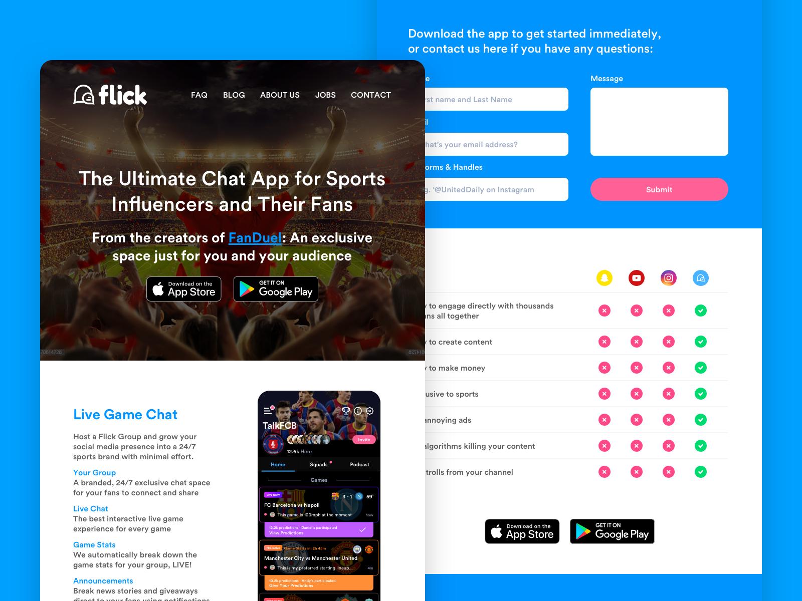 Flick_HomePage